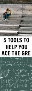 Practice tests for the GRE. Studying for the GRE.