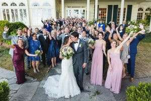 Ross University graduate wedding