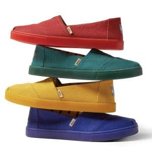 Toms make a great shoe for vet techs