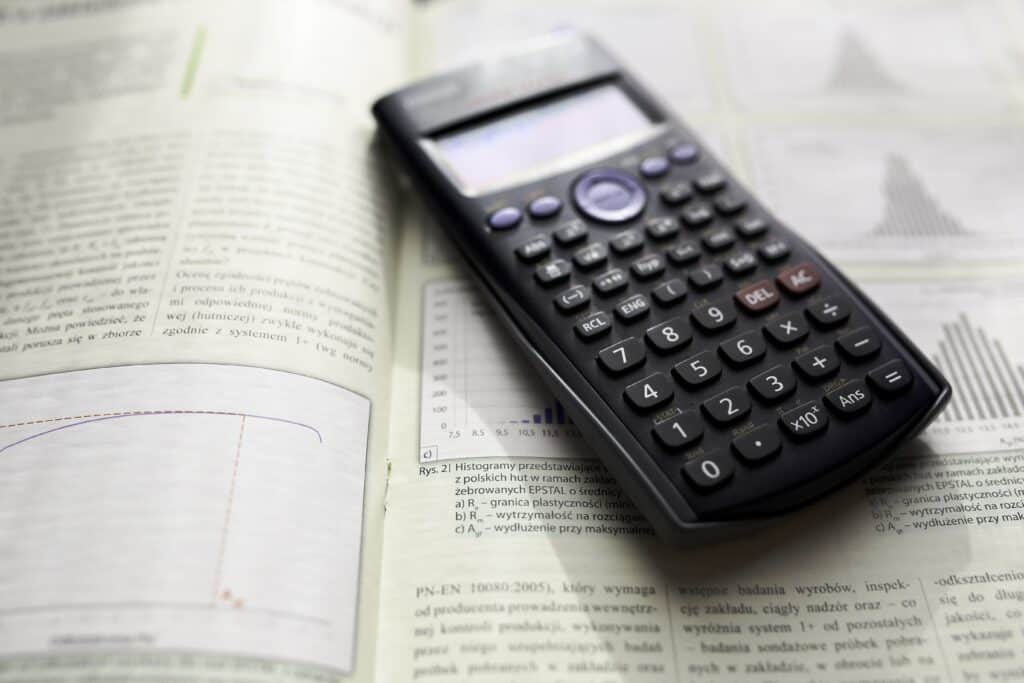Scientific calculator - one of our 21 best college backpack essentials